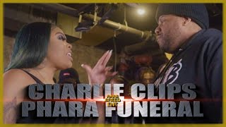 CHARLIE CLIPS VS PHARA FUNERAL RAP BATTLE - RBE