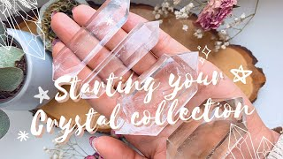 5 CRYSTALS FOR BEGINNERS // Living Wicca