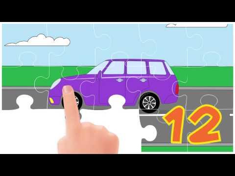 Puzzle. Autos 1.