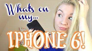 WHAT'S ON MY IPHONE 6! Nützliche Apps, FOTOBEARBEITUNG Für INSTAGRAM!