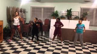 J moss - good day dance practice
