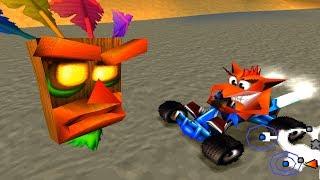 Crash Team Racing ::: First 30 Minutes ::: Gameplay ::: PlayStation (PS1)