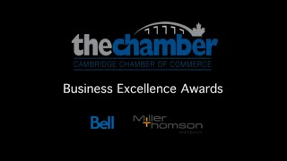 preview picture of video 'Cambridge Chamber of Commerce - 15th Annual Business Excellence Awards produced by Cinemetrix Media'
