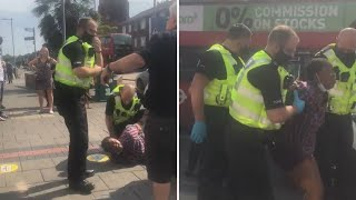 video: Questions over police handling of incident involving black NHS nurse