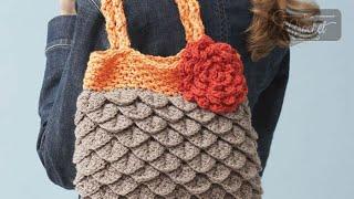 Crochet Mermaid Tears Purse Pattern