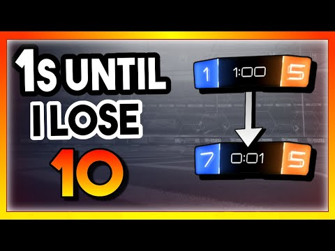 My Best Comeback Yet? | 1's Until I Lose Ep. 10 | Rocket League