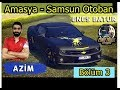 Enes Batur'un Aracını Sürdüm! Yeni Araba Azim Amasya -Samsun Otoban Ekip Ets 2 (Türkiye Map)