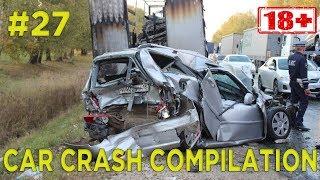 Car crash compilation Dash cam accidents Подборка Аварий и Дтп #27