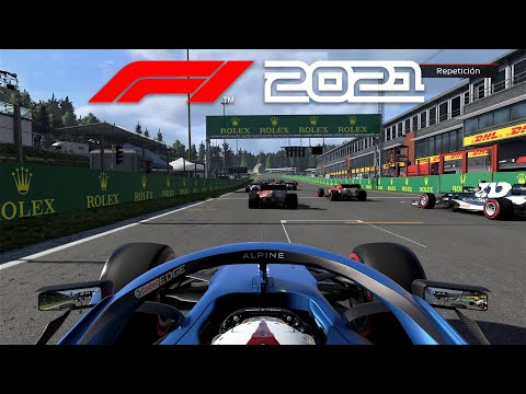 PRIMERA CARRERA EN F1 2021   OCON Y SPA-FRANCORCHAMPS