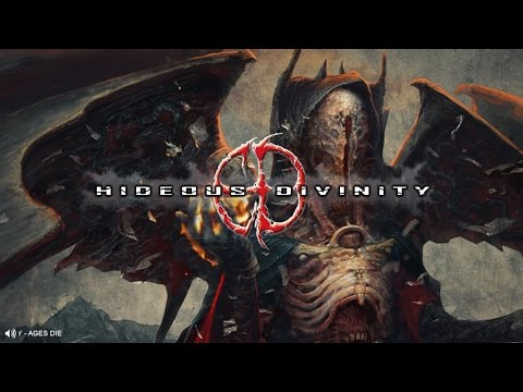 HIDEOUS DIVINITY - AGES DIE (OFFICIAL TRACK PREMIERE 2017) [UNIQUE LEADER RECORDS]