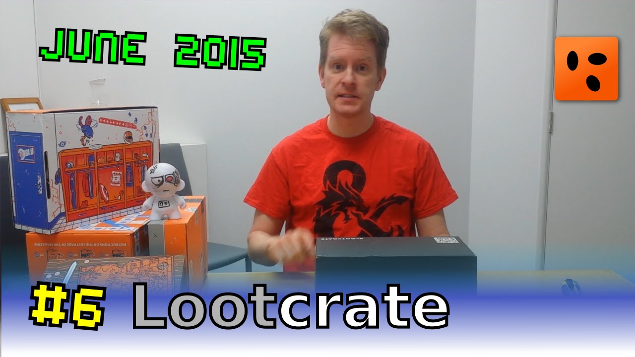 Mailbag Lootcrate | June 2015 - Cyber