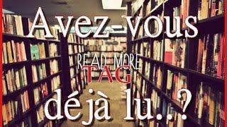 """Tag #7 :  PKJ """" Avez Vous Déjà Lu"""""""