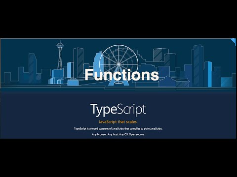 13- TypeScript|| Functions  ألدوال