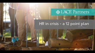 HR in a time of crisis – a 12 point plan webinar