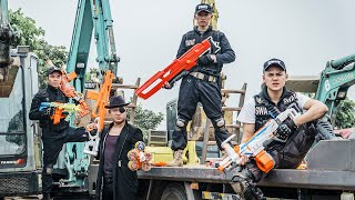 LTT Nerf War : SEAL X Warriors Nerf Guns Fight Criminal Group Dr.Lee Crazy Squad Avenger