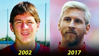Lionel Messi - Transformation From 1 to 30 Years Old