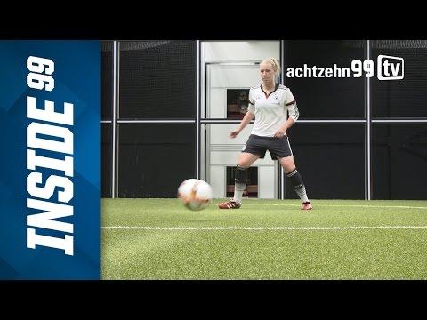 DFB-Frauen im Footbonaut - Demann & Co. machen Hightech-Training