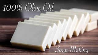 Single Oil Soap Making - Olive Oil Castile Soap