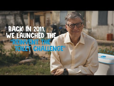 Bill Gates Introduces the Future of Toilets