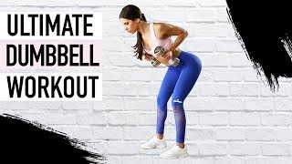 ULTIMATE DUMBBELL FULL BODY WORKOUT | Jen Selter