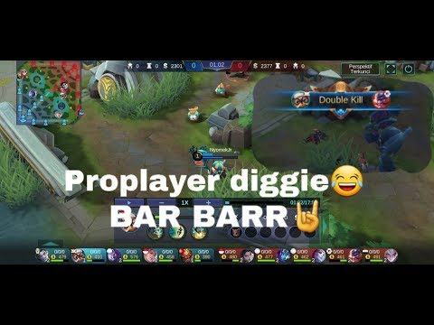 PRO PLAYER DIGGIE😂#BARBARR