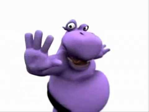 purple hippola bomba - All I Want For Christmas Is A Hippopotamus Ringtone