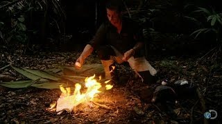 How to Boost a Signal Fire | Bear Grylls: Escape From Hell