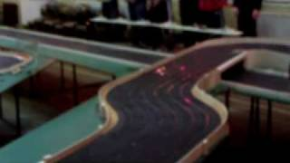 preview picture of video 'The London Scalextric Club, Rally Night, 7th April 2009'