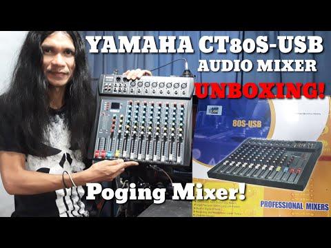 YAMAHA CT80S-USB AUDIO MIXER/CLASS A   UNBOXING