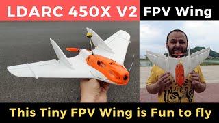 LDARC 450X V2 Mini FPV Wing Auto Launch Built in Stablizer