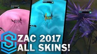 Zac   Midseason Update 2017   All Skins