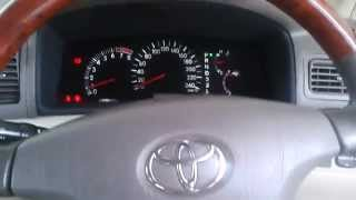 2004 Toyota Corolla Altis 1.8 G Start-Up