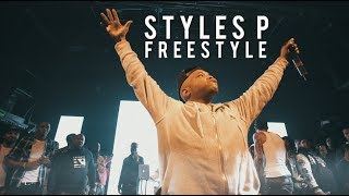Styles P Freestyle | Dave East P2 Tour - Irving Plaza - NYC