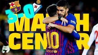 #BarçaEibar (3-0) | BARÇA LIVE | Warm up & Match Center