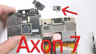 ZTE Axon 7 Teardown - Screen Repair, Battery Replacement, Charging Port Fix