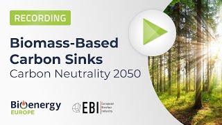 Webinar: Sumideros de carbón a base de biomasa. Neutralidad de carbono 2050.