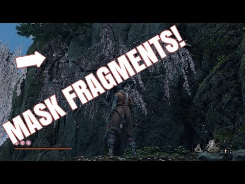 Sekiro | ALL 3 MASK FRAGMENT LOCATIONS | HOW TO GET THE DANCING DRAGON MASK