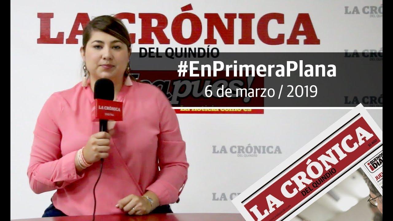 En Primera Plana: lo que será noticia este jueves 7 de marzo