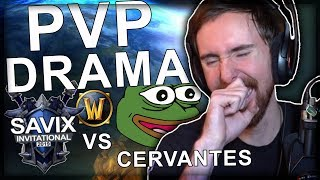 Asmongold Reacts to Savix Drama Video and Then Cervantes and Savix Have a Long Argument