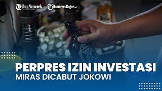 Tuai Protes dari Sejumlah Kalangan, Perpres Izin Investasi Miras Dicabut Jokowi