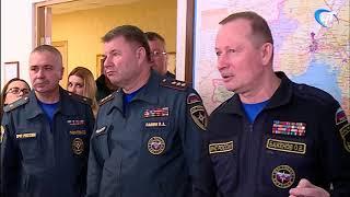 С рабочим визитом Новгородскую область сегодня посетил замминистра МЧС Олег Баженов