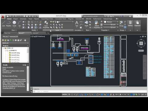 AutoCAD Electrical 2015 Tutorial | Introduction - YouTube