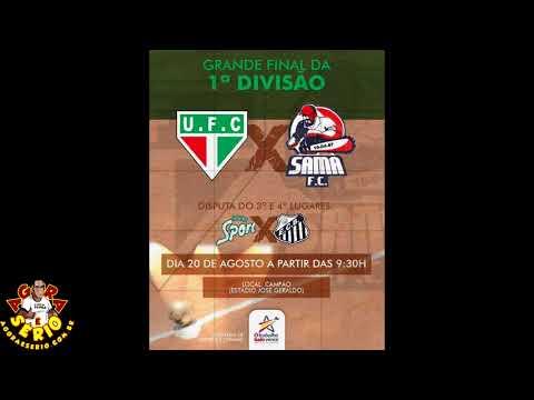 Unidos B futebol Clube da Favela do Justinos  x Novo Sama Futebol Clube de Juquitiba com Transmissão ao vivo na Rádio Cidade com Naaman Do Valle