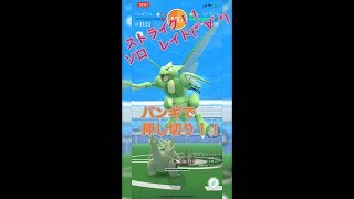 【ポケモンGO】初ストライク ソロレイド バンギで押し切って見た(*゚∀゚*)