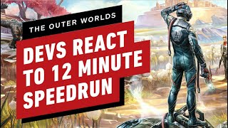 The Outer Worlds Developers React to 12 Minute Speedrun