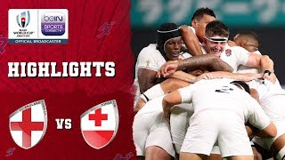 England 35-3 Tonga | Rugby World Cup 2019 Match Highlights