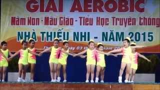 BÉ KHỎE VUI giải thi Aerobic truyền thống quận Thủ Đức