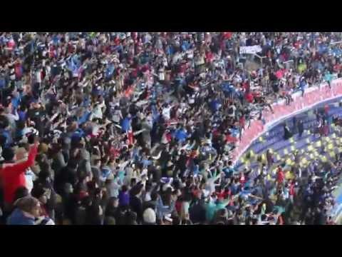 """""""Supercampeon Universidad Catolica - U de chile Ester Roa  15 09 2016"""" Barra: Los Cruzados • Club: Universidad Católica"""