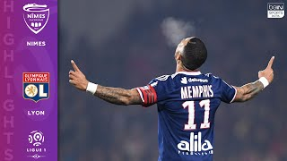 Nimes 0-4 Lyon - HIGHLIGHTS & GOALS - 12/6/19
