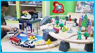 น้องบีม | รีวิวของเล่น EP129 | รถไฟรางไม้ Toys